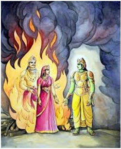 agni-brings-sita-back