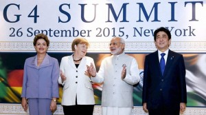 Modi at G4 Summit