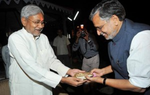 nithish and sushil modi