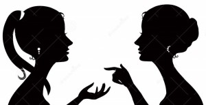 http://www.dreamstime.com/stock-images-gossip-silhouette-image26147964