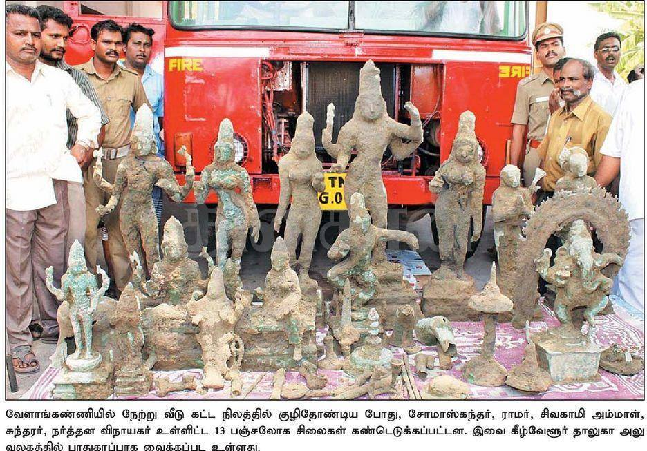 velankanni-many-statues-unearthed