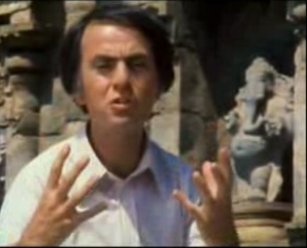 Carl Sagan at Darasuram Temple