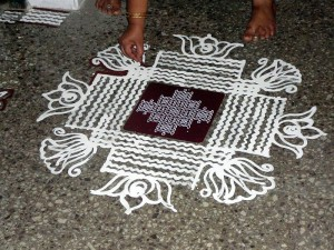 kolam-drawing